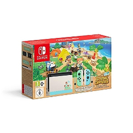 Console nintendo switch : animal crossing : new horizons edition + code de téléchargement - édition limitée (SWITCH)