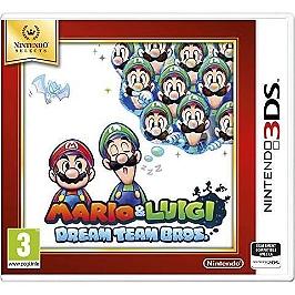 Mario & Luigi dream team Bros - Nintendo Selects (3DS)