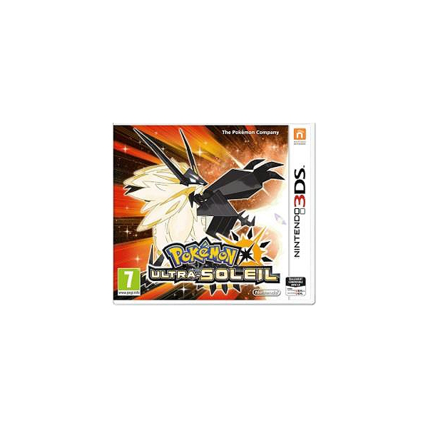 Pokemon Ultra Soleil 3ds Sur Nintendo 3ds Jeux Videos Role Rpg