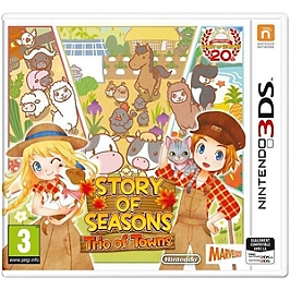 Story of seasons : trio of towns (3DS)