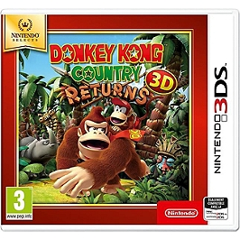Donkey Kong Country Retuns 3D - Nintendo Selects (3DS)