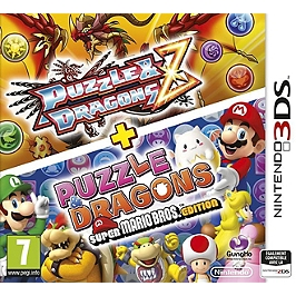 Puzzle & dragons Z et puzzle & dragons super Mario Bros édition (3DS)
