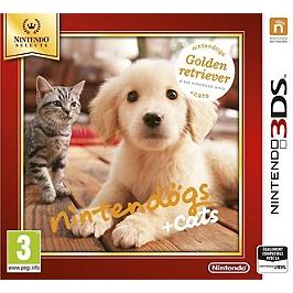 Nintendogs & cats - golden retriver & ses nouveaux amis - Nintendo Selects (3DS)