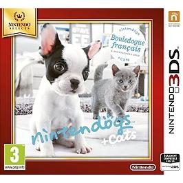 Nintendogs & cats - bouledogue français & ses nouveaux amis - Nintendo Selects (3DS)