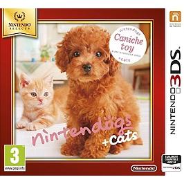 Nintendogs & cats - caniche toy & ses nouveaux amis - Nintendo Selects (3DS)