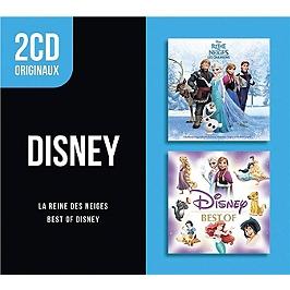 Best of Disney - la reine des neiges, Edition 2 CD cristal sous fourreau., CD
