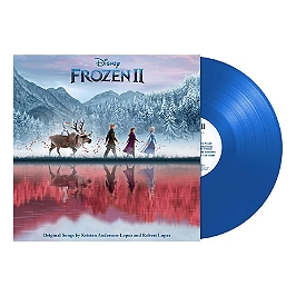 La reine des neiges 2 (bof), Edition cristal vinyle coloré bleu., Vinyle 33T