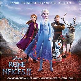 La reine des neiges 2 (bof), édition CD jewelcase version française, CD