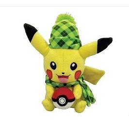 Peluche Pokemon pikachu winter