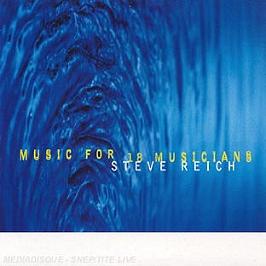 Music for 18 musicians, CD