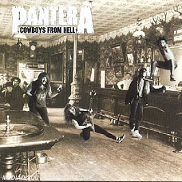 Cowboys from hell, CD
