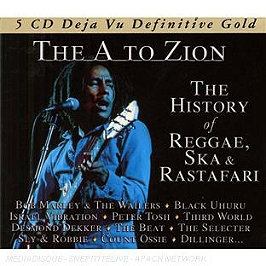 The A to Zion, the history of reggae, ska & rastafari, CD + Box