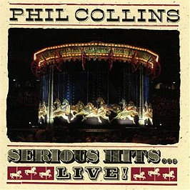 Serious hits...live, CD