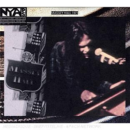 Live At Massey Hall 1971, edition spéciale - digipack, CD + Dvd