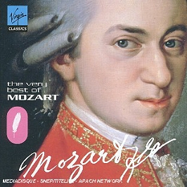 The very best of mozart, CD