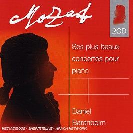 Ses plus beaux concertos pour piano, CD