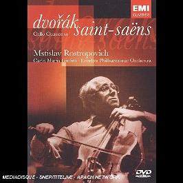 Dvorak - Saint-Saens: Concertos Pour Violoncelle, Dvd Musical