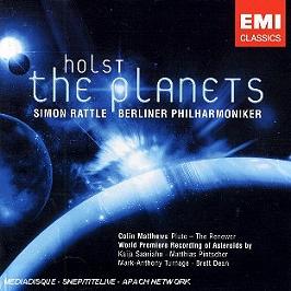 Les Planètes Opus.32, CD