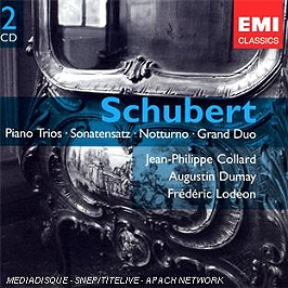 Trios pour piano - sonatensatz - nocturne - grand duo, CD