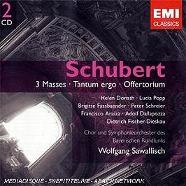 3 messes - tantum ergo - offertorium, CD