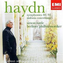 Symphonies n°88, 89, 90, 91, 92 - symphonie concertante, CD