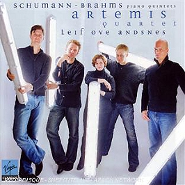 Schumann : quintette pour piano op.44 - brahms - quintette pour piano op.34, CD