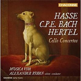 Concertos pour violoncelle, CD