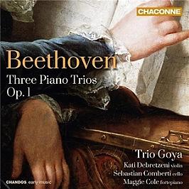 Three piano trios op. 1, CD