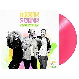 Comme des enfants, édition vinyle rose, Vinyle 33T