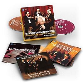 Russian chamber music: Tchaikovsky, Shostakovich, Schnittke, CD + Box