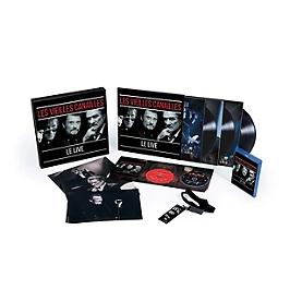 Les Vieilles Canailles - l'album live (boxset integrale collector), Edition INTEGRALE BOXSET COLLECTOR (ultra limité+numéroté) inclus l'édition CD+DVD+BLU-RAY+3 LP, CD + Blu-ray 3D
