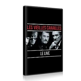 Les vieilles canailles - l'album live, Dvd Musical
