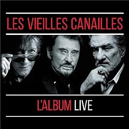 Les vieilles canailles, l'album live, CD