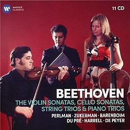 Beethoven: sonates pour violon & pour violoncelle, trios, CD + Box