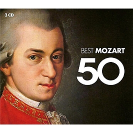 50 best mozart, CD