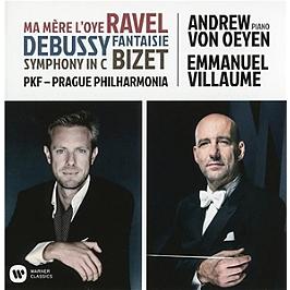 Ravel, Debussy, Bizet, CD