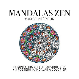 Zen mandalas - voyage interieur, CD