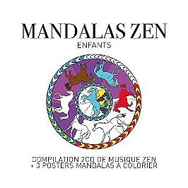 Zen mandalas - enfants, CD