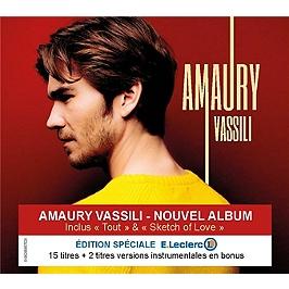 Amaury - édition limitée E.Leclerc, Edition limitée exclusive E.Leclerc inclus deux titres instrumentaux bonus., CD