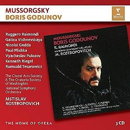 Mussorgsky: Boris Godunov, CD