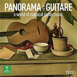 Panorama de la guitare, CD + Box