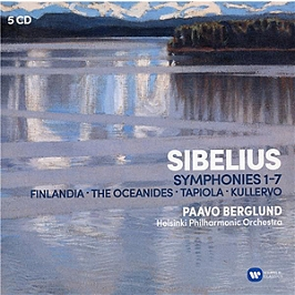 Sibelius : les 7 symphonies, CD + Box