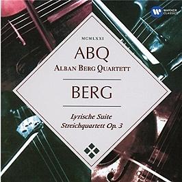 Lyrische suite, streichquartett opus 3, CD