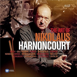 The art of Nikolaus Harnoncourt, CD + Box