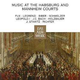Music at the Habsburg and Mannheim courts, CD + Box