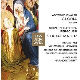 Vivaldi & Pergolese, CD