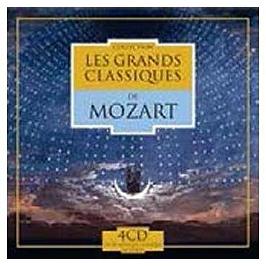 Les grands classiques de Mozart, CD + Box