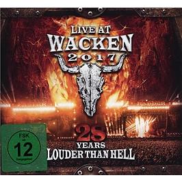 Live at Wacken 2017, 28 years louder than hell, Edition 2 CD + 2 DVD. Format digipack., CD + Dvd