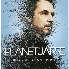 Planet Jarre, 50 years of music, Anniversary edition standard booklet., CD