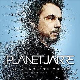 Planet Jarre, 50 years of music, vinyl edition limitée 180g black incl.